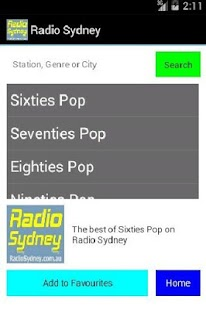 Radio Sydney- screenshot thumbnail