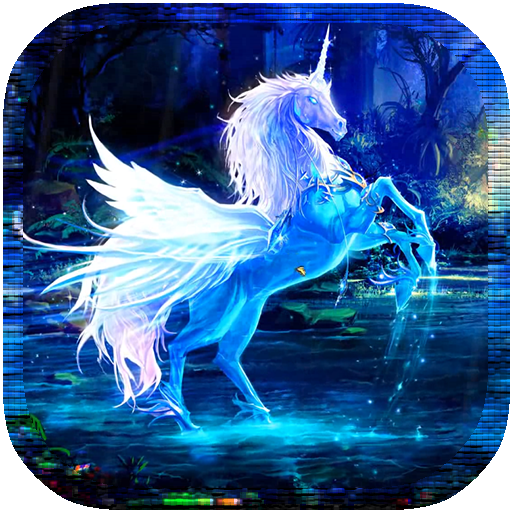 Magic Unicorns LiveaWallpaper LOGO-APP點子