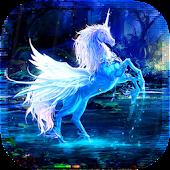 Magic Unicorns LiveaWallpaper