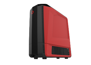 Photo: ORIGIN PC GENESIS RED