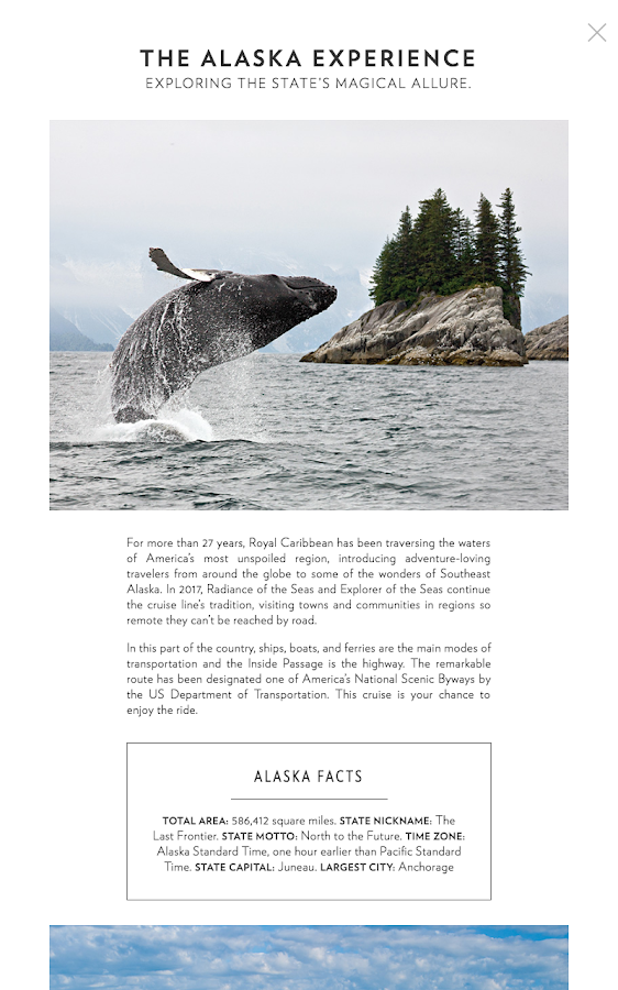 PortFolio Alaska- screenshot