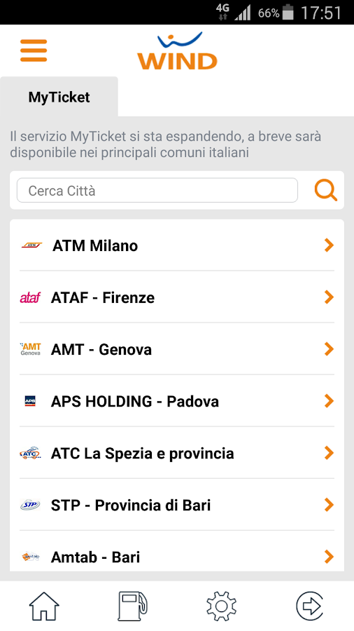MyWind (App ufficiale Wind)- screenshot