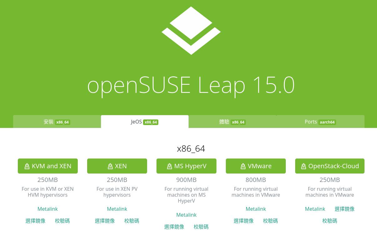 sakananote: Install openSUSE Leap 15 on DigitalOcean