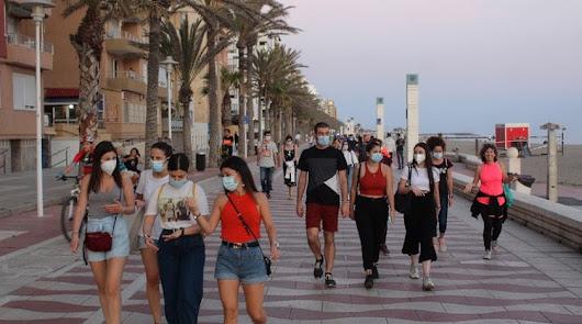 Almería registra su récord diario de positivos por coronavirus con 84 nuevos