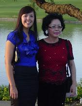 Photo: Cô Cẩm Tú và con gái