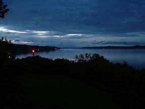 Photo: Twilight on the water