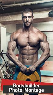 Bodybuilder Photo Montage - náhled