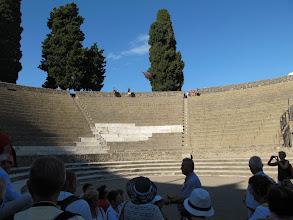 Photo: It.s3S223-141007Pompéï, site archéo, grand théâtre, gradins  IMG_5517