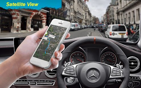 Live Street View & Driving Route Maps - náhled