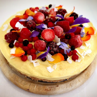 Raw Sprouted Mango Pie
