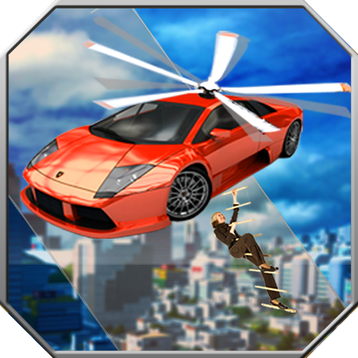 Flying Rescue Car 3D