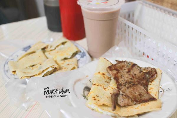 鹿港施早餐店-不在鹿港的鹿港施,古早味的手工蛋餅,原味蛋餅只要18元