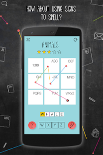 Signtist-New Word Puzzle-Free- screenshot thumbnail