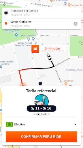 Peru Ride Taxi