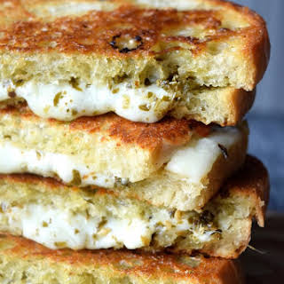 Pesto Grilled Cheese.
