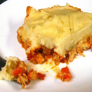 Buffalo Chicken Shepherds Pie