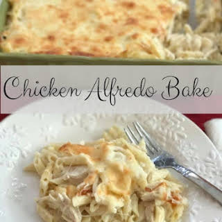 Chicken Alfredo Bake.