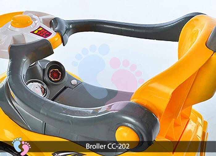 Xe chòi chân trẻ em Broller CC 202 10