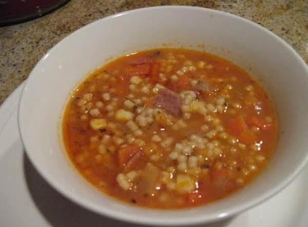 Delicious Ham & Veggie Soup