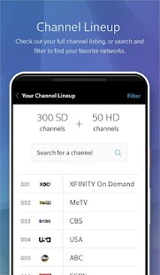 XFINITY My Account- screenshot thumbnail