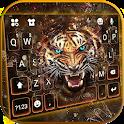 Roaring Fierce Tiger Keyboard Theme icon