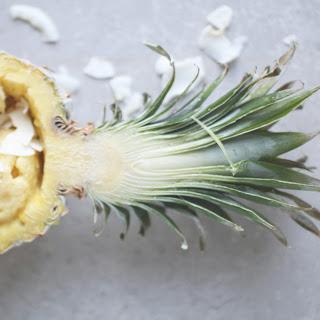 5-Minute Vegan Coconut Pineapple Ice Cream Recipe