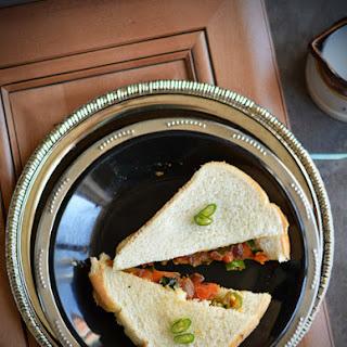Bakery Style masala Bread Sandwich