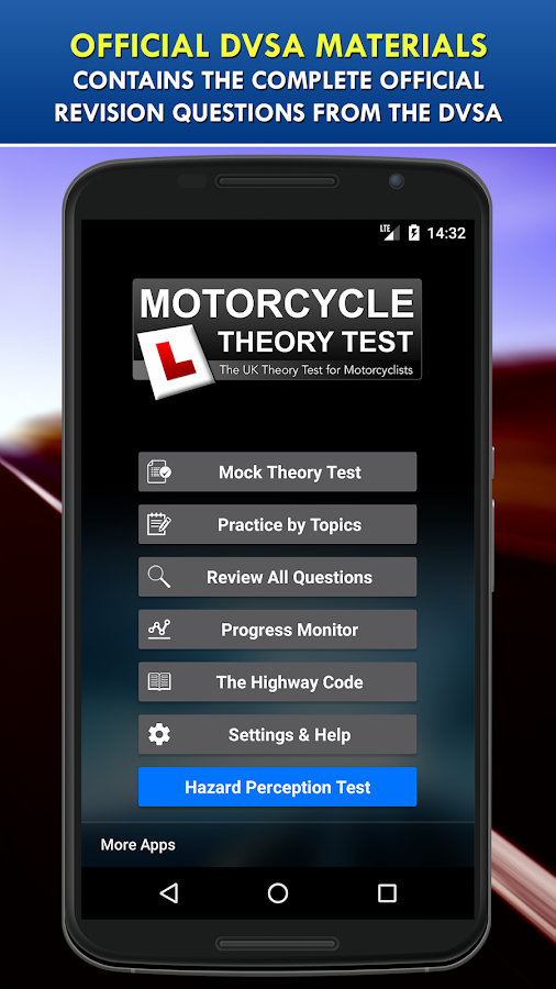 Motorcycle Theory Test UK Free- screenshot