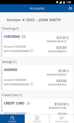Screenshot for CUofCO Mobile Banking in United States Play Store