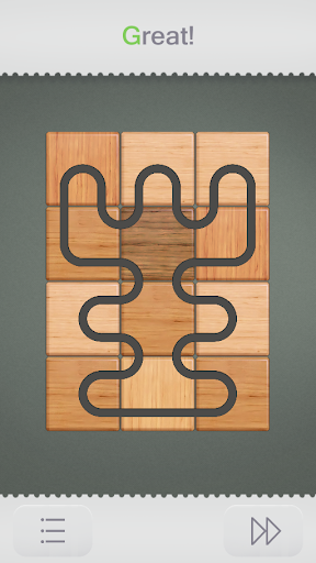 Connect it. Wood Puzzle Screenshot