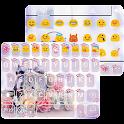 Alarm Rose Emoji Keyboard Skin icon