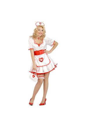 Dräkt, sjuksköterska one size