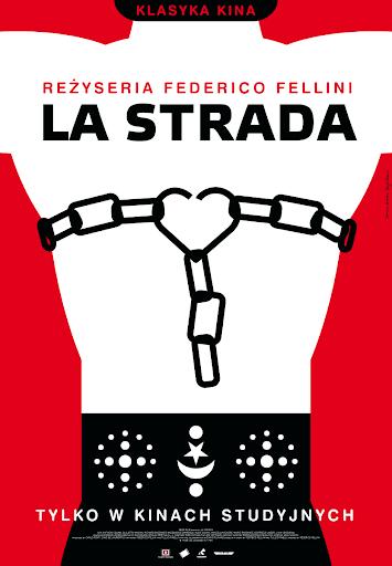 Polski plakat filmu 'La Strada'