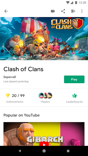Google Play Games  screenshots 3