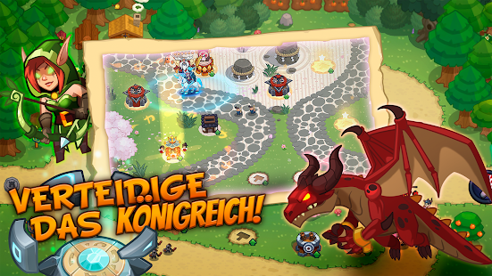 Realm Defense: Turmverteidigung strategie spiel Screenshot
