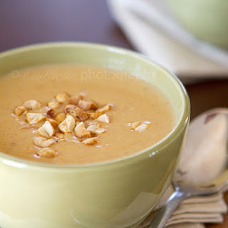 Peanut and Butternut Squash Soup