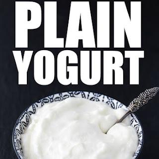 Homemade Plain Yogurt Recipe