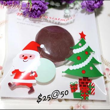 💕聖誕老人聖誕樹包裝自粘袋