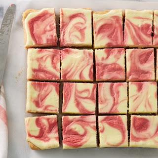 Raspberry Lemonade Cheesecake Bars.