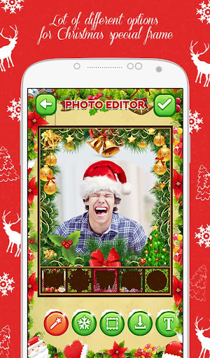 merry christmas photo editor