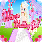Warm Wedding Girl - Dress up games for girls/kids icon