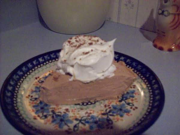 Coaco Mousse Pie Recipe