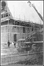 Photo: Budowa nowego kościoła parafialnego, widok od bocznego wejścia