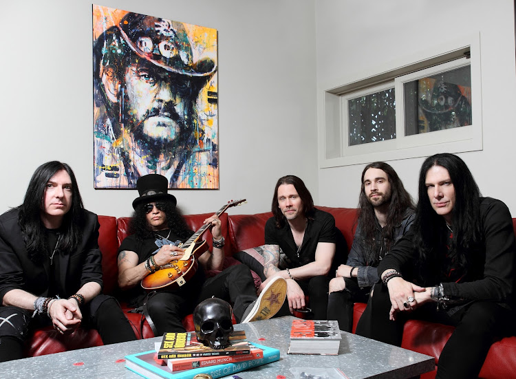Slash says The Conspirators is primarily a road band.