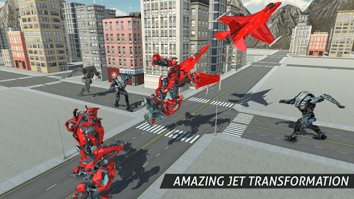 Air Robot Game - Flying Robot Transforming Plane for PC