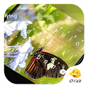 Bright Flying Video Keyboard icon