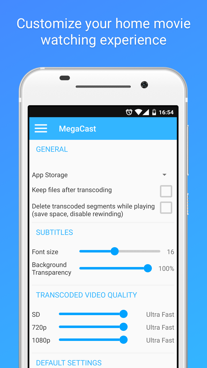 MegaCast - Chromecast Pro Screenshot 4