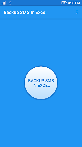 Backup SMS In Excel