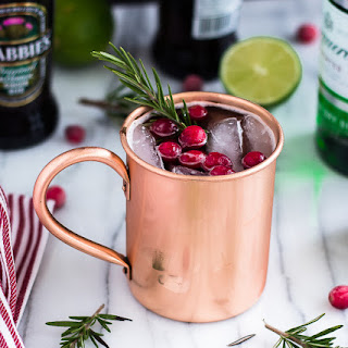Holiday Moscow Mule.