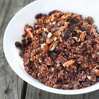 Quinoa with Pecans and Raisins